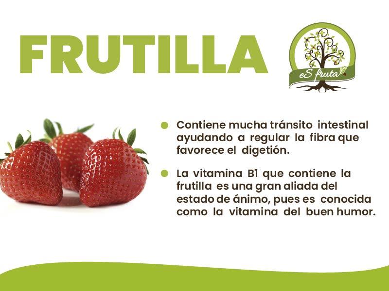 Conoce los beneficios que te aporta la Frutilla