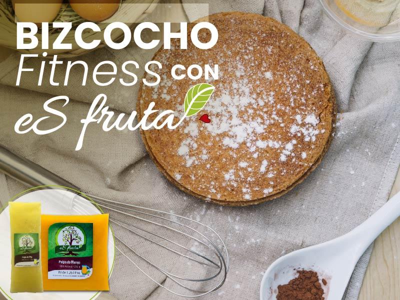 ¿Cómo preparar un bizcocho fitness con pulpa de fruta?
