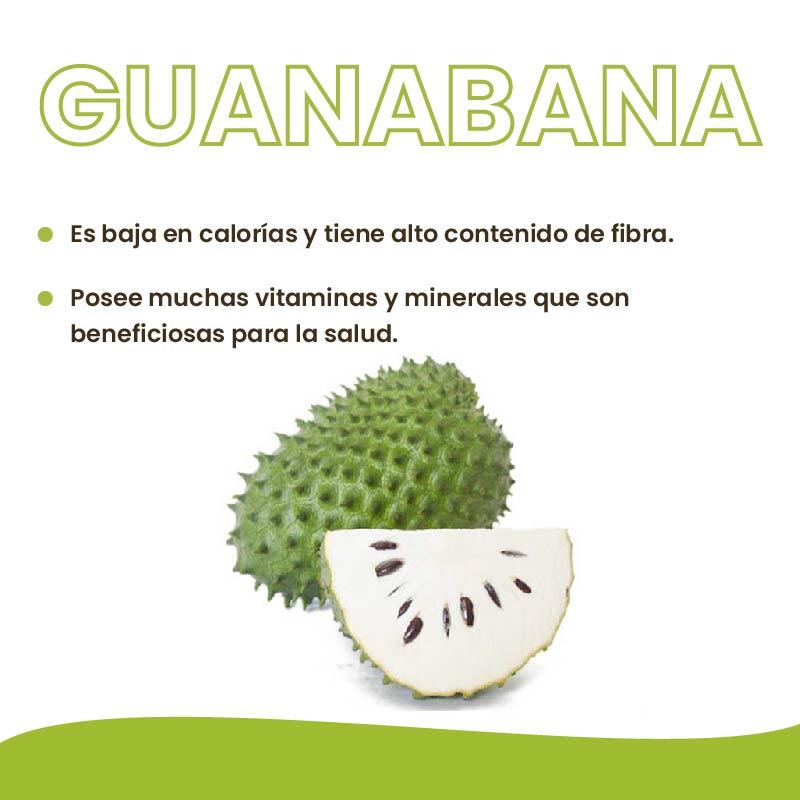 Qué nos aporta la Guanábana?