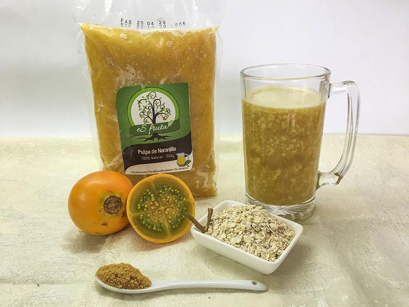 Cómo preparar Avena de Naranjilla