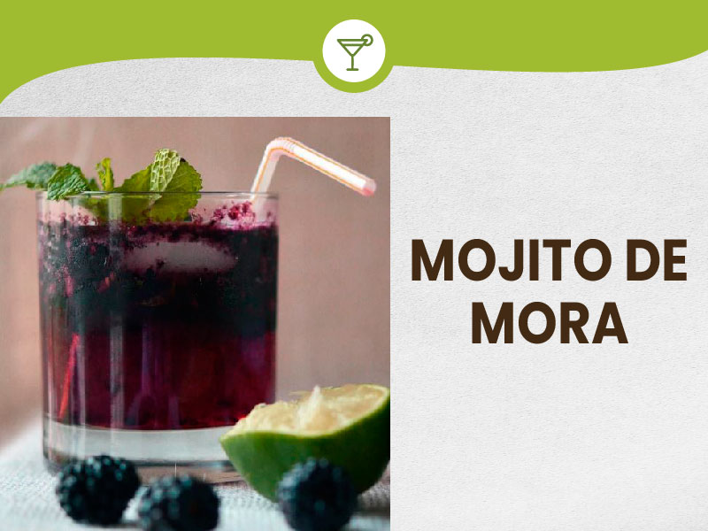 Prepara un delicioso Mojito de Mora