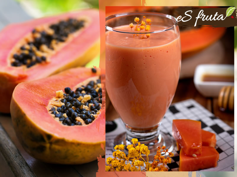 Desayuna saludable con un Smoothie de papaya